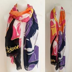 DVF Grace Scarf/Wrap, multi-colour